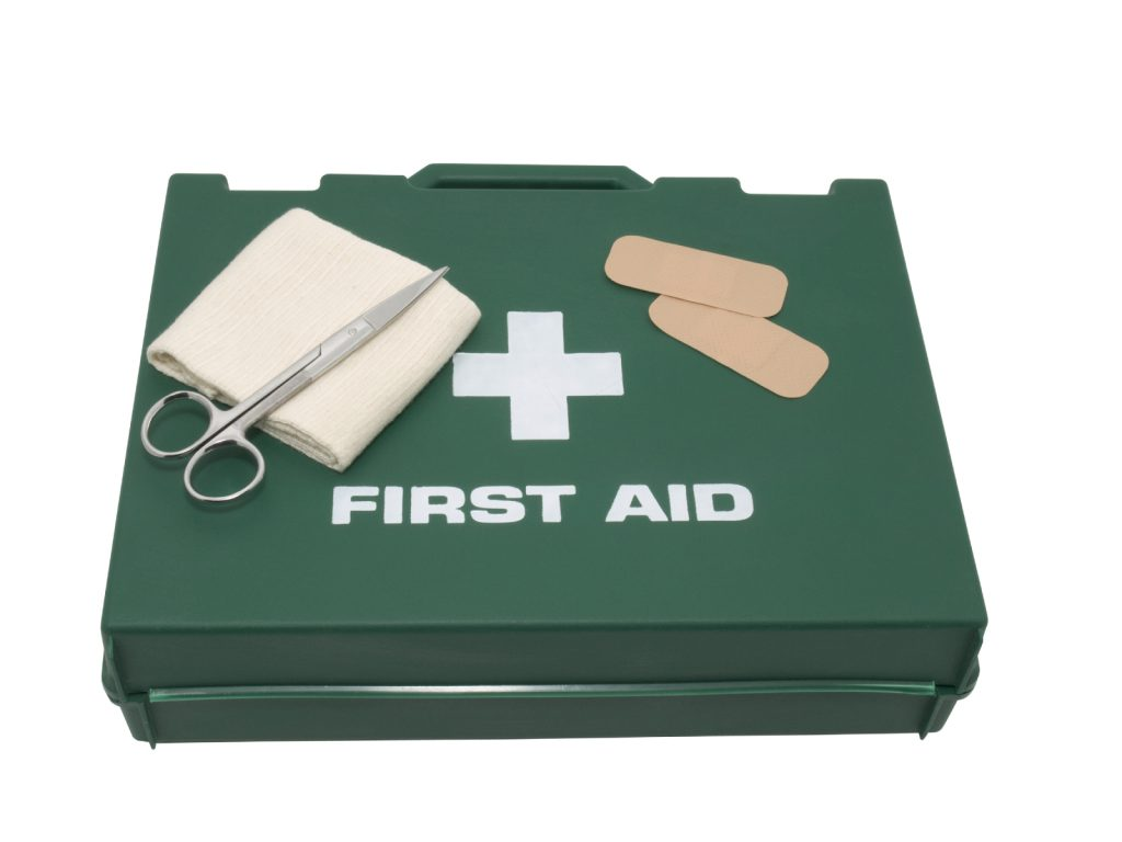 82c33aeab4 Do you have a first aid kit at home? Do you know what items you should take  on day trips, holidays or in your car?