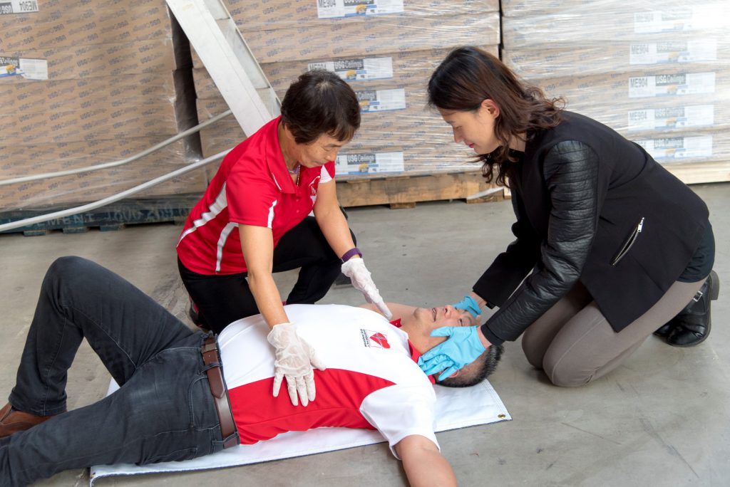 Korean - First Response - EFR - CPR - First Aid
